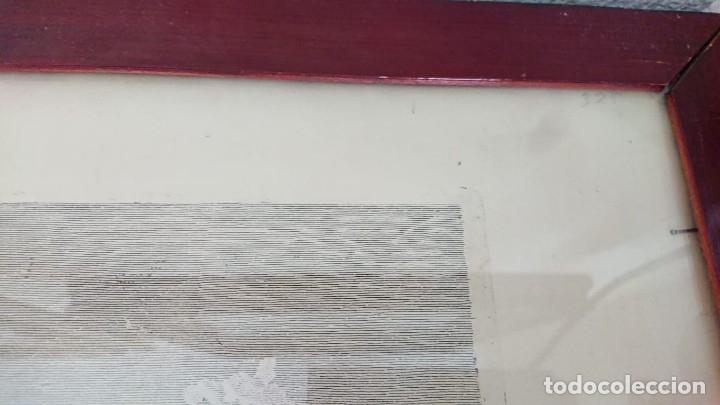 Arte: ANTIGUO GRABADO CARTOGRAFIA CIUDAD Y PUERTO DE TOULON SELLADA POR EL MUSEO LOUVRE - Foto 43 - 177117010