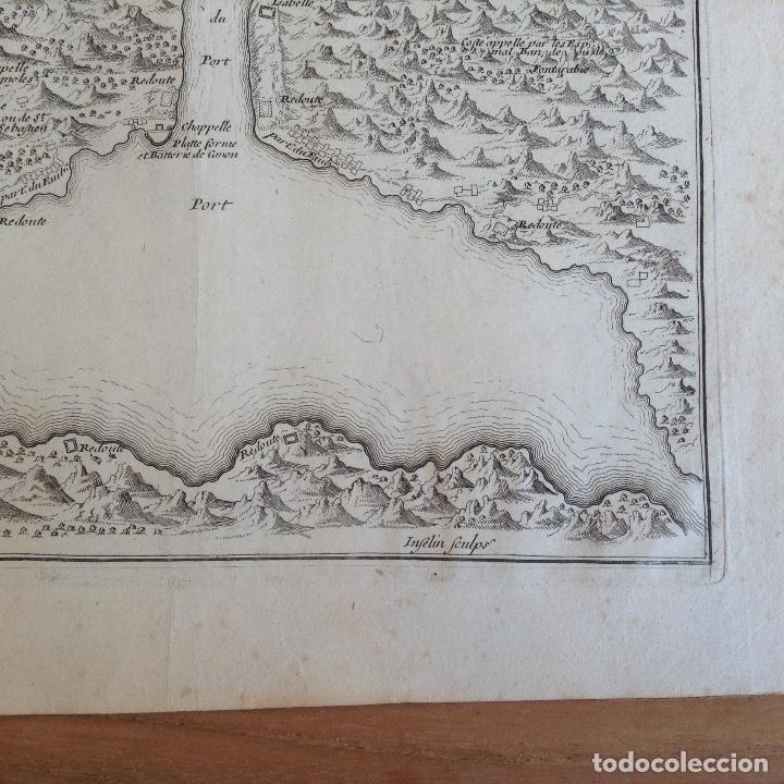 "Arte: ""Plan du port du passage Espagne"" Fontarabie San Sebastian mapa HONDARRIBIA FUENTERRABIA pais vasco - Foto 5 - 177484333"