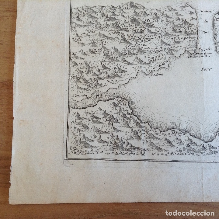 "Arte: ""Plan du port du passage Espagne"" Fontarabie San Sebastian mapa HONDARRIBIA FUENTERRABIA pais vasco - Foto 6 - 177484333"
