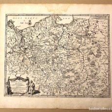 Art: MAPA GRANDE POLOGNE ET PRUSSE. POLONIA Y PRUSIA. PIERRE VANDER. CIRCA 1730. Lote 178028465