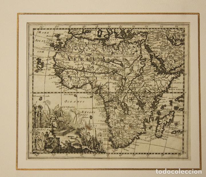 MAPA AFRICA. SIGLO XVIII (Arte - Cartografía Antigua (hasta S. XIX))