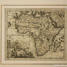 Arte: MAPA AFRICA. SIGLO XVIII. Lote 178029253