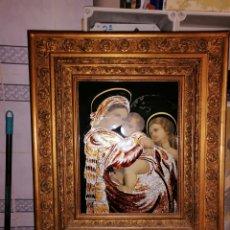 Arte: CUADRO DE IGLESIA ANTIGUO MUY BIEN CONSERVADO. Lote 178050650