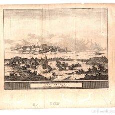 Arte: MAPA FONTARABIE. FUENTERRABIA, GIPUZKOA. SIGLO XVII. Lote 178178830