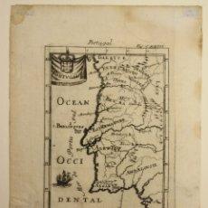 Arte: MAPA PORTUGAL. SIGLO XVII. Lote 178205440