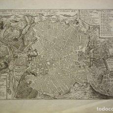 Arte: PLANO DE MADRID DE 1700, NICOLAS DE FER. Lote 178334250