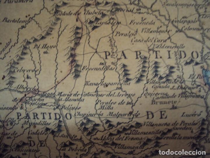 Arte: (PA-191008)Mapa en tela Arzobispado de Toledo Arqueologia escudo Cardenal Lorenzana Tomas Lopez 1792 - Foto 27 - 179189590