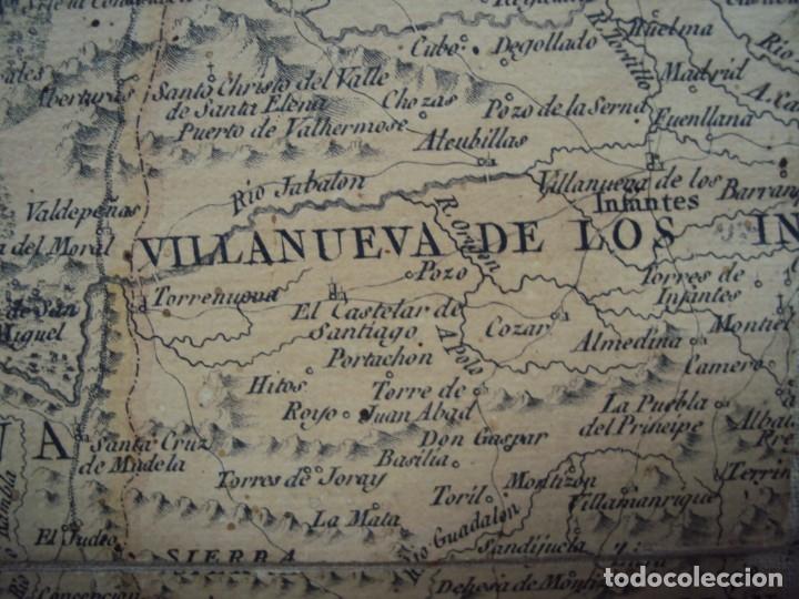 Arte: (PA-191008)Mapa en tela Arzobispado de Toledo Arqueologia escudo Cardenal Lorenzana Tomas Lopez 1792 - Foto 32 - 179189590