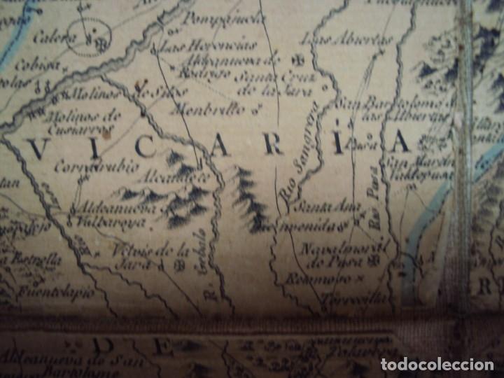 Arte: (PA-191008)Mapa en tela Arzobispado de Toledo Arqueologia escudo Cardenal Lorenzana Tomas Lopez 1792 - Foto 33 - 179189590