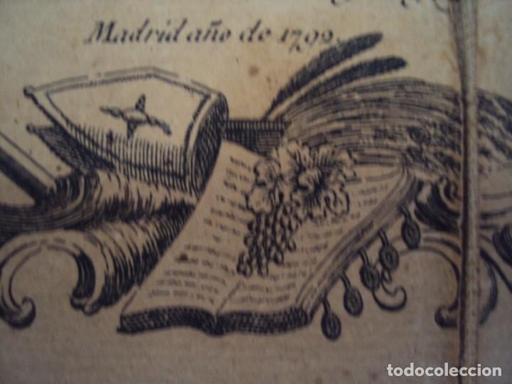 Arte: (PA-191008)Mapa en tela Arzobispado de Toledo Arqueologia escudo Cardenal Lorenzana Tomas Lopez 1792 - Foto 34 - 179189590