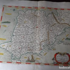 Arte: MAPA ESPAÑA Y PORTUGAL. TABULAE GEOGRAPHICAE PTOLEMAEI. MERCATOR. SIGLO XVIII. 1704. 52X43. Lote 179248926