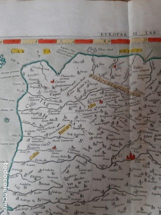 Arte: MAPA PTOLOMEO DE ESPAÑA. TABULAE GEOGRAPHICAE PTOLEMAEI. MERCATOR. SIGLO XVIII. 1704. 52X43 CM - Foto 5 - 179248926