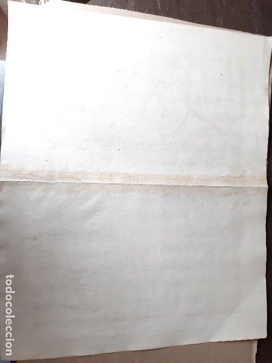 Arte: MAPA PTOLOMEO DE ESPAÑA. TABULAE GEOGRAPHICAE PTOLEMAEI. MERCATOR. SIGLO XVIII. 1704. 52X43 CM - Foto 11 - 179248926