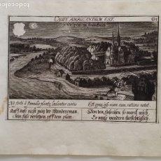 Arte: SAN VICTOR (FRANCIA), GRABADO DE DANIEL MEISNER DE 1630. Lote 180447813