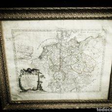 Arte: MAPA CARTOGRAFÍA ANTIGUA AÑO 1776, GERMANIA ( ALEMANIA). Lote 182130900
