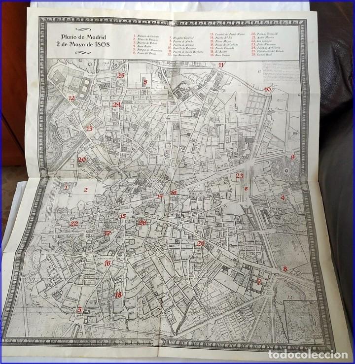 PLANO DE MADRID DEL AÑO 1808 DE MÁS DE MEDIO METRO. (Arte - Cartografía Antigua (hasta S. XIX))