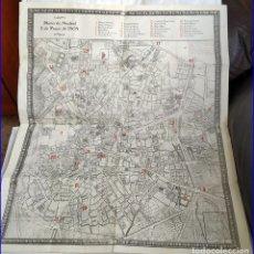 Arte: PLANO DE MADRID DEL AÑO 1808 DE MÁS DE MEDIO METRO.. Lote 182361798