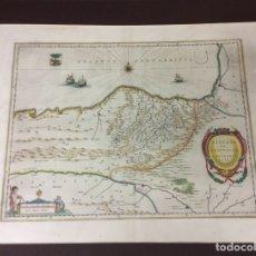 Arte: BISCAIA ET GUIPUSCOA,CANTABRIAE VETERIS PARS ,AÑO 1663-MEDIDA 63X53 CM. Lote 182381103
