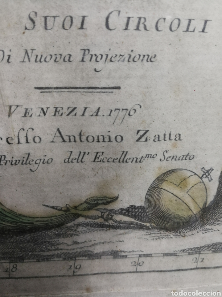 Arte: ANTIGUA CARTOGRAFIA MAPA AÑO 1776,GERMANIA, ALEMANIA. - Foto 3 - 183718791