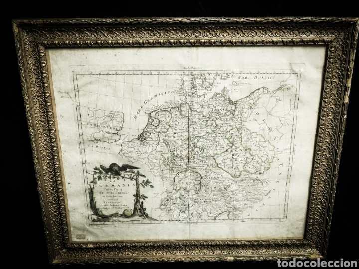 ANTIGUA CARTOGRAFIA MAPA AÑO 1776,GERMANIA, ALEMANIA. (Arte - Cartografía Antigua (hasta S. XIX))
