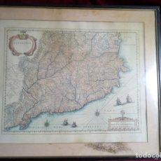 Arte: ANTIGUO MAPA DE CATALONIA. SIGLO XVII.. Lote 184173802