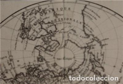 Arte: Mapa del hemisferio oriental del mundo, 1780. R. Bonne - Foto 6 - 184468957