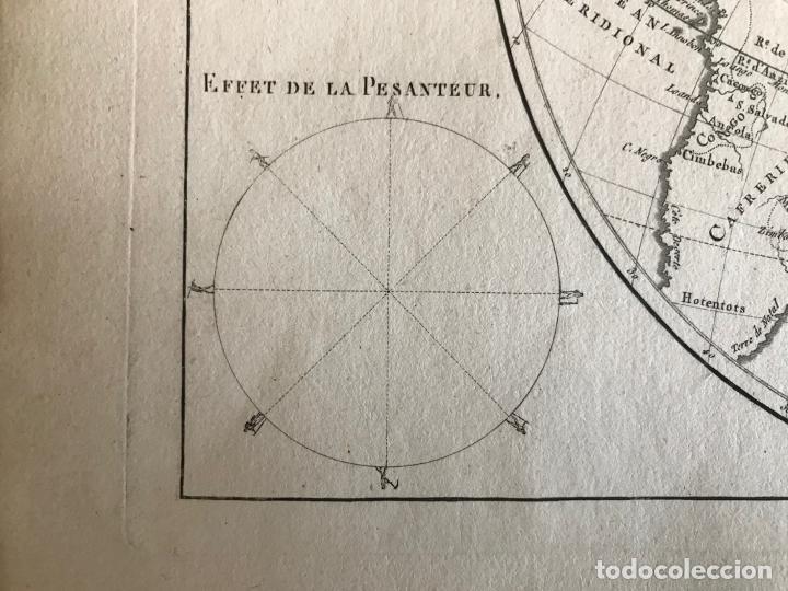 Arte: Mapa del hemisferio oriental del mundo, 1780. R. Bonne - Foto 18 - 184468957