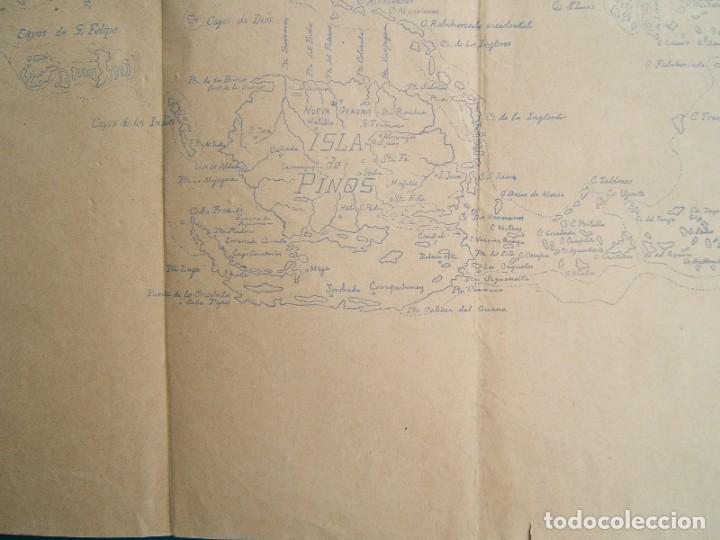 Arte: ISLA DE CUBA-MATANZAS, LA HABANA-PINAR DEL RIO-ISLA DE PINOS-SANTIAGO, CAYOS...TODA LA ISLA-1895. - Foto 3 - 185196535