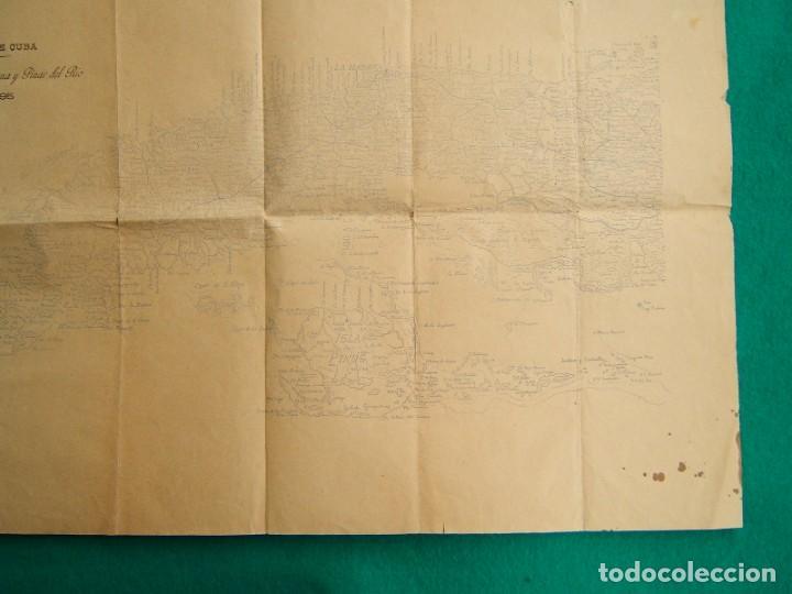 Arte: ISLA DE CUBA-MATANZAS, LA HABANA-PINAR DEL RIO-ISLA DE PINOS-SANTIAGO, CAYOS...TODA LA ISLA-1895. - Foto 6 - 185196535