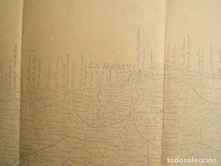 Arte: ISLA DE CUBA-MATANZAS, LA HABANA-PINAR DEL RIO-ISLA DE PINOS-SANTIAGO, CAYOS...TODA LA ISLA-1895. - Foto 7 - 185196535