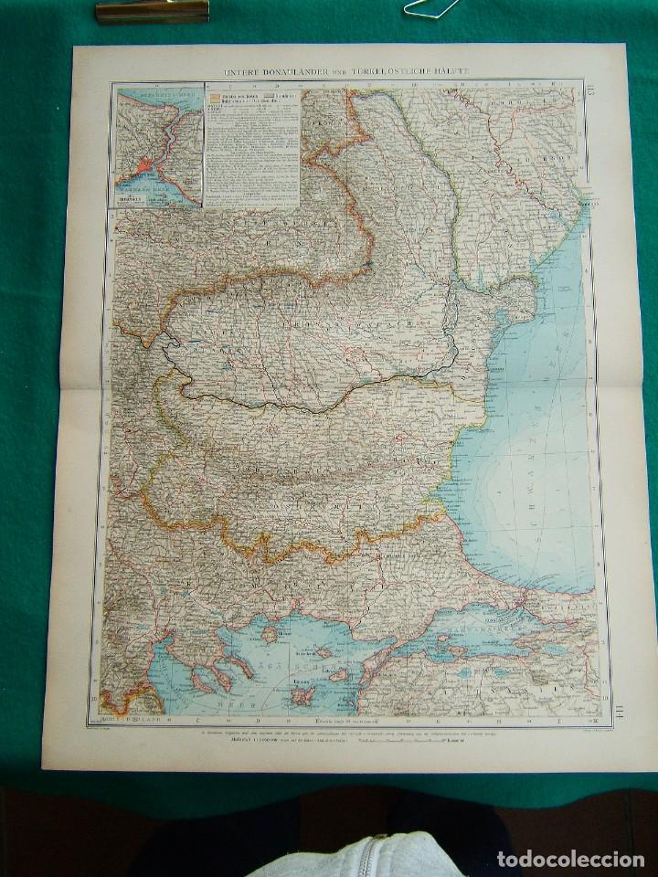 Arte: RUSIA-UNION SOVIETICA-MAR NEGRO-MOSCU-NORUEGA-SUECIA-FINLANDIA-CASPIO-CRIMEA-BOSFORO-RUMANIA-1899. - Foto 2 - 185891628