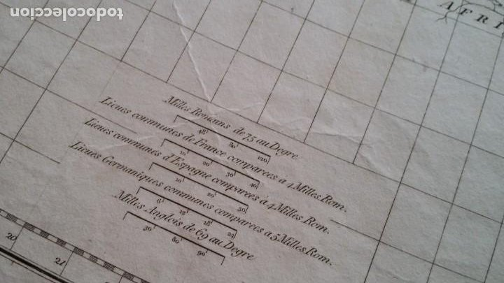 Arte: Mapas, ESPAÑA, BRITANIA, GERMANIA... D Anville, París, 1789 - Foto 9 - 185964247