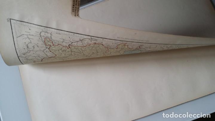 Arte: Mapas, ESPAÑA, BRITANIA, GERMANIA... D Anville, París, 1789 - Foto 11 - 185964247
