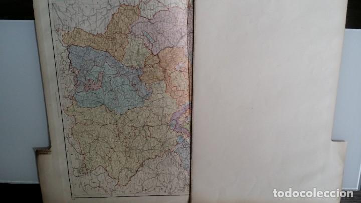Arte: Mapas, ESPAÑA, BRITANIA, GERMANIA... D Anville, París, 1789 - Foto 12 - 185964247