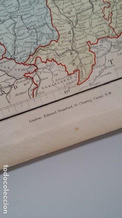 Arte: Mapas, ESPAÑA, BRITANIA, GERMANIA... D Anville, París, 1789 - Foto 10 - 185964247