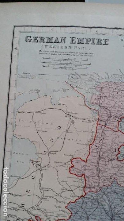 Arte: Mapas, ESPAÑA, BRITANIA, GERMANIA... D Anville, París, 1789 - Foto 14 - 185964247