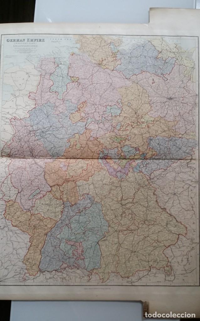 Arte: Mapas, ESPAÑA, BRITANIA, GERMANIA... D Anville, París, 1789 - Foto 7 - 185964247