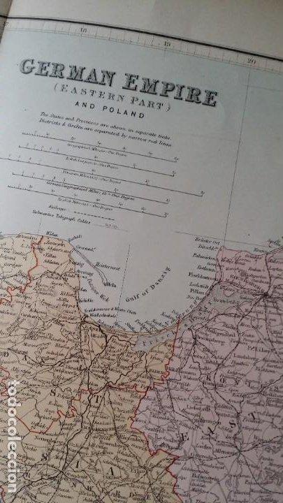 Arte: Mapas, ESPAÑA, BRITANIA, GERMANIA... D Anville, París, 1789 - Foto 16 - 185964247