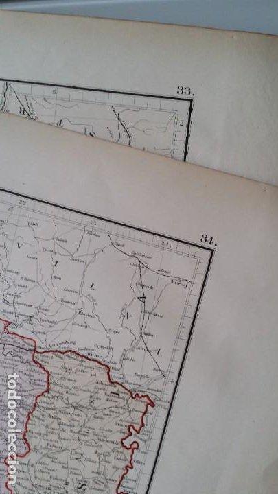 Arte: Mapas, ESPAÑA, BRITANIA, GERMANIA... D Anville, París, 1789 - Foto 18 - 185964247