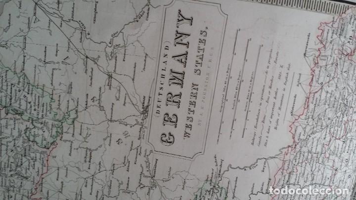 Arte: Mapas, ESPAÑA, BRITANIA, GERMANIA... D Anville, París, 1789 - Foto 20 - 185964247