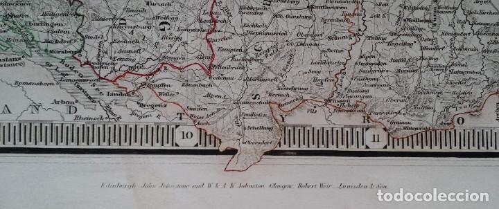 Arte: Mapas, ESPAÑA, BRITANIA, GERMANIA... D Anville, París, 1789 - Foto 23 - 185964247
