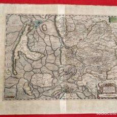 Arte: PREFECTURA TONDERN. IOHANNES MEJERUS. DEDICADO A WOLFF BLOHM. CHRISTIAN ROTHGIESSER. 1648. Lote 185993623