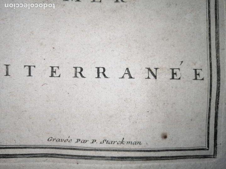 Arte: Les frontieres dEspagne et de Portugal… par N. de Fer ...; gravée par P. Starckman 1705 - Foto 6 - 186337173