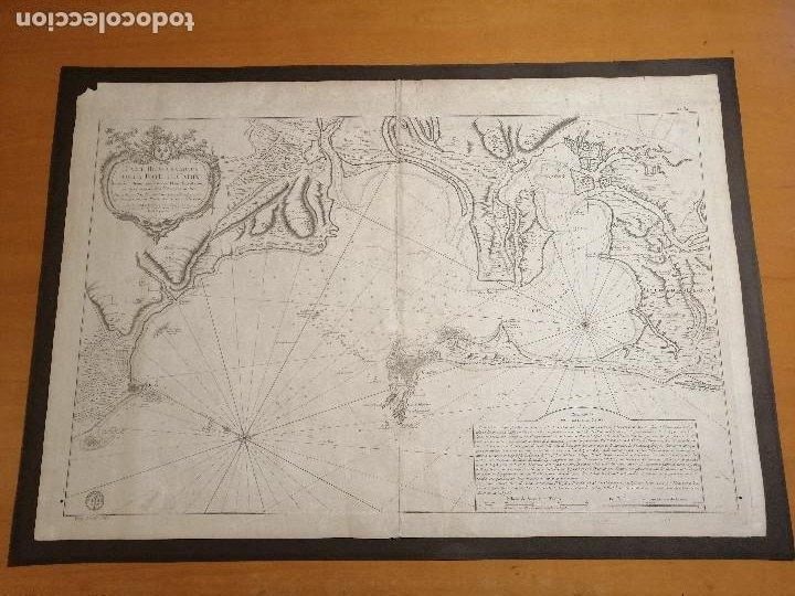 CARTE HYDROGRAPHIQUE DE LA BAYE DE CADIX… PAR LE S. BELLIN INGENIEUR DE LA MARINE. 1762 (Arte - Cartografía Antigua (hasta S. XIX))