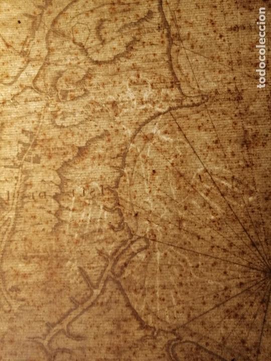 Arte: Carte Hydrographique de la Baye de Cadix… par le S. Bellin Ingenieur de la Marine. 1762 - Foto 10 - 186337470