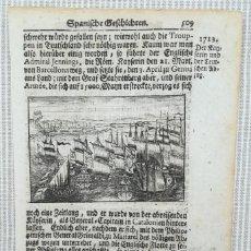 Arte: ASEDIO DE BARCELONA 1713 - GUERRA DE SUCESION -. Lote 186753672