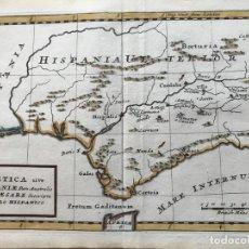 Arte: ANDALUCIA ROMANA (ESPAÑA), HACIA 1660. CLUVERIUS. Lote 187306071
