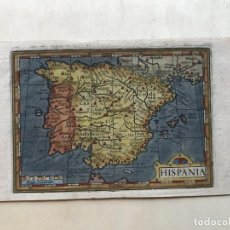 Arte: MAPA DE ESPAÑA Y PORTUGAL, 1620. MERULA/HONDIUS/KAERIUS. Lote 187631372
