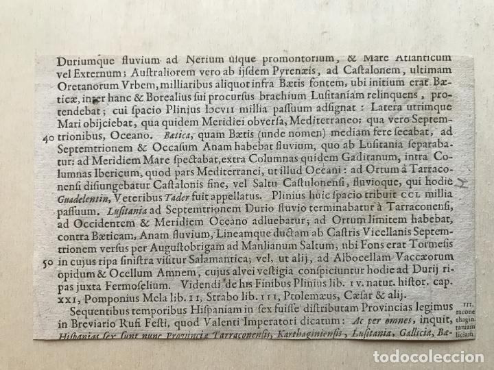 Arte: Mapa de Santander y Vizcaya (España), 1620. Merula/Hondius/Kaerius - Foto 9 - 188402841