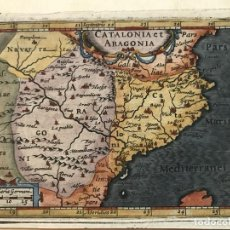 Arte: MAPA DE ARAGÓN Y CATALUÑA (ESPAÑA), 1620. MERCATOR/HONDIUS/KAERIUS. Lote 188404131
